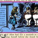Alice in Wonderland and Through the Looking Glass Alphabet T by Samitha Hess Edwards