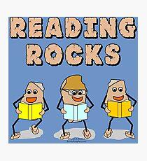 Reading Rocks  Photographic Print