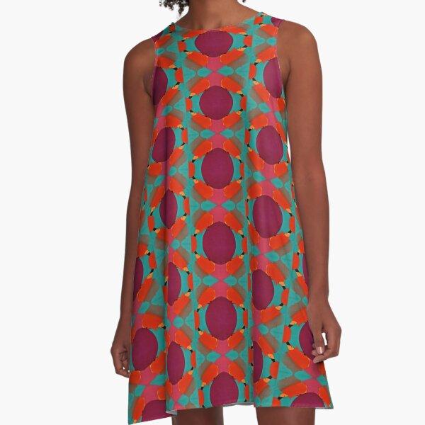 Little Spot A-Line Dress