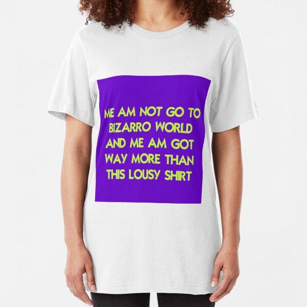 Bizarro Tourist Slim Fit T-Shirt