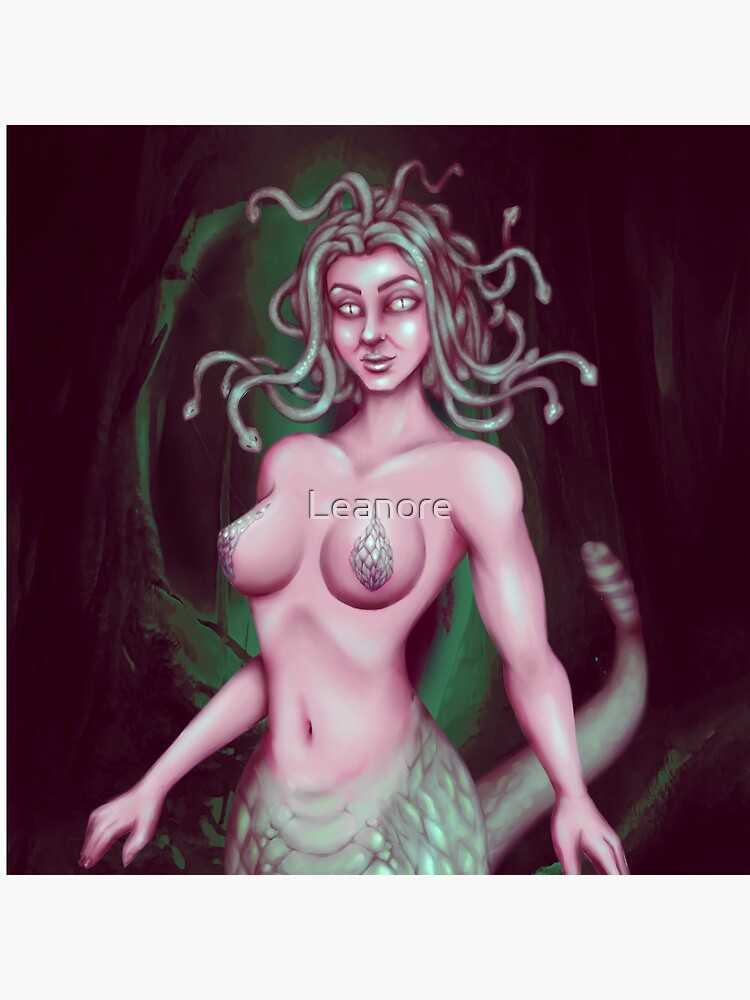Medusa: Stone Cold Beauty by Leanore