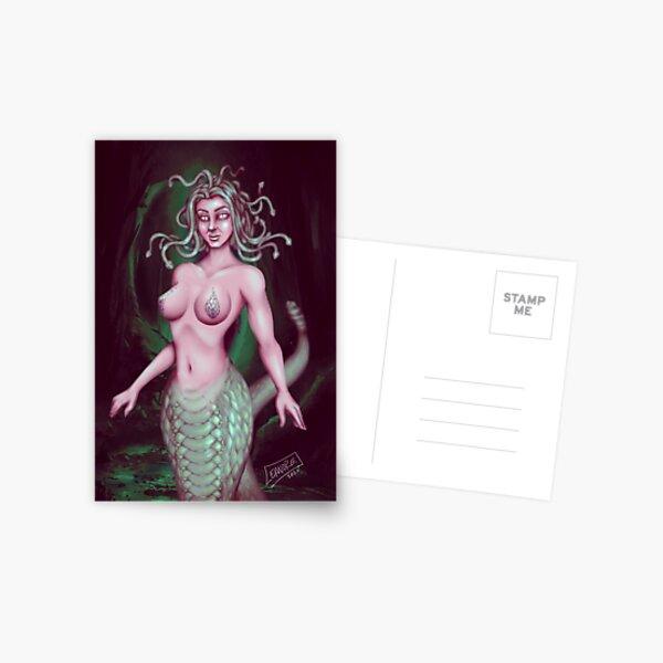 Medusa: Stone Cold Beauty Postcard