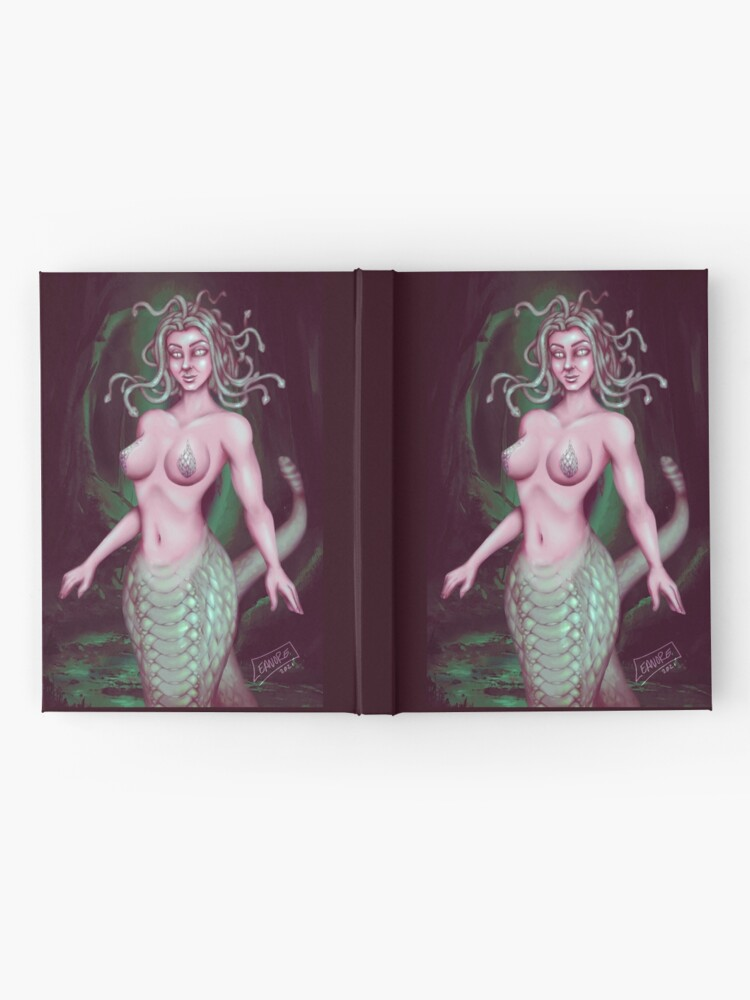 Alternate view of Medusa: Stone Cold Beauty Hardcover Journal