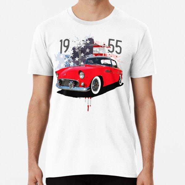 1955 Ford Thunderbird T-shirt premium