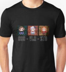 Zero Escape Waifu Trilogy Unisex T-Shirt