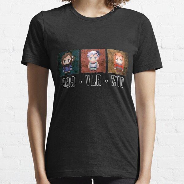 Zero Escape Waifu Trilogy Essential T-Shirt
