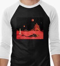 CITY ON MARS Baseball ¾ Sleeve T-Shirt