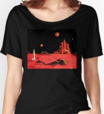 CITY ON MARS Women's Relaxed Fit T-Shirt