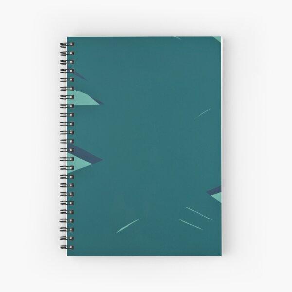 Big Green Stillness Spiral Notebook