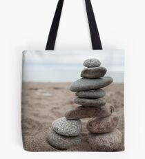 Lake Superior Inukshuk Tote Bag