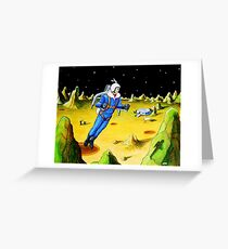 JET-PACK  Greeting Card
