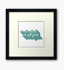 In da clerb Framed Print