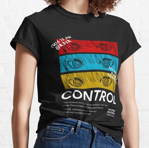 Control Makima - Hombre de motosierra Camiseta clásica
