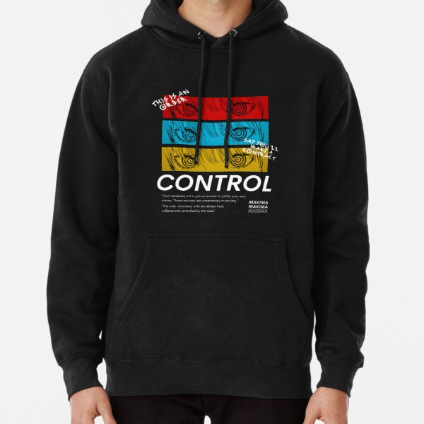 Control Makima - Chainsaw Man Pullover Hoodie