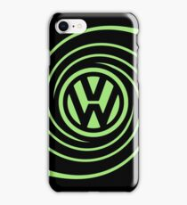VW Swirl (mirrored) iPhone Case/Skin