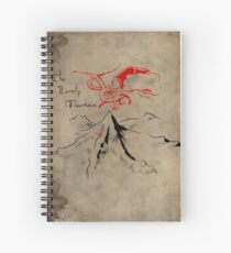The Lonely Mountain Spiral Notebook