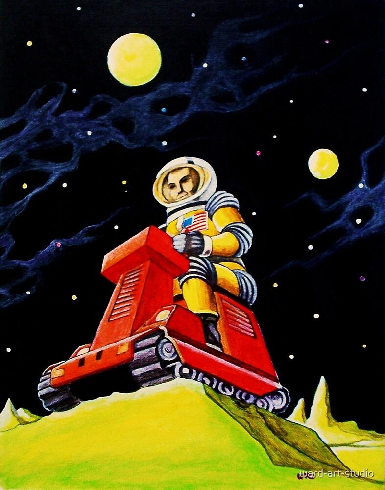 SPACE SCOUT DOUG DAVIS by ward-art-studio