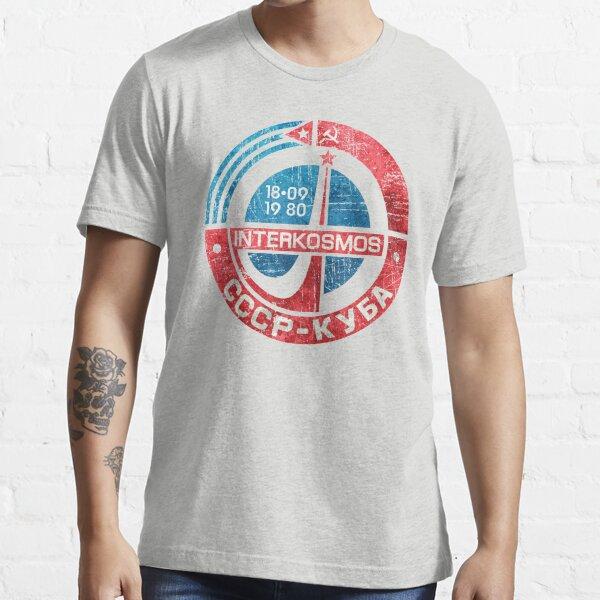 Interkosmos CCCP Cuba V01 Essential T-Shirt