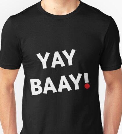 YAY BAAY! (White) T-Shirt