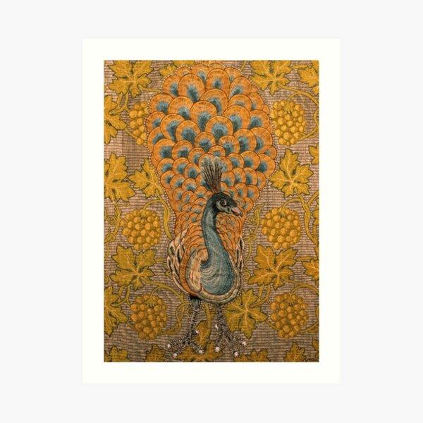 Peacock And Vine Detail, William Morris And Philip Webb Art Print