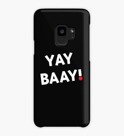 YAY BAAY! (White) Case/Skin for Samsung Galaxy