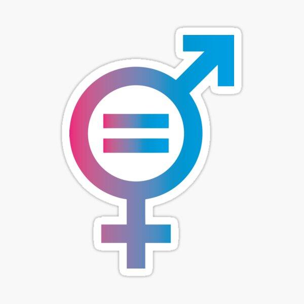 Gender Equality Sticker
