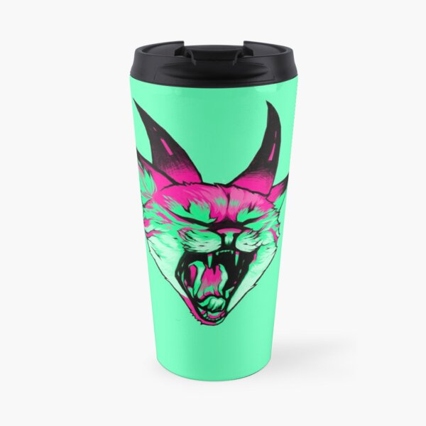 Acid Kitten Travel Mug