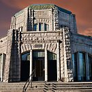 Vista House on Crown Point at Sunset by Jeff Goulden