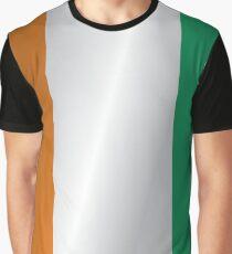 Ivory Coast flag Graphic T-Shirt
