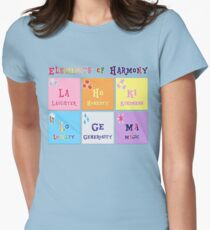 Elements of Harmony Women's Fitted T-Shirt