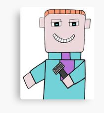 Comedian Game Show Host Canvas Print
