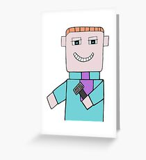Comedian Game Show Host Greeting Card