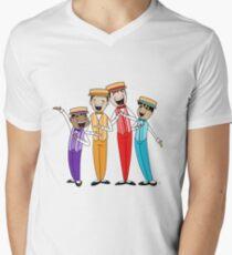 Dapper Dans Men's V-Neck T-Shirt