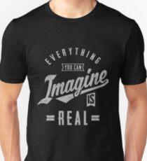 Imagine is Real | Inspiration T-shirt Unisex T-Shirt