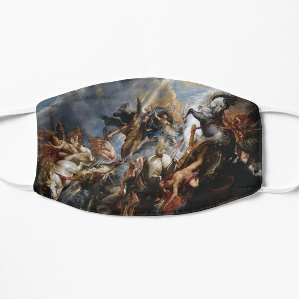 The Fall of Phaeton - Rubens Flat Mask