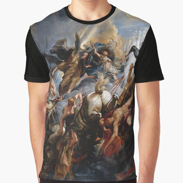 The Fall of Phaeton - Rubens Graphic T-Shirt