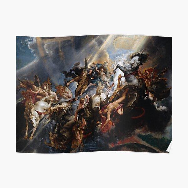 The Fall of Phaeton - Rubens Poster