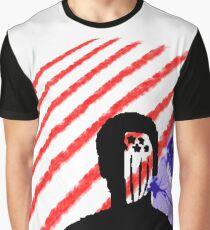 American Beauty / American Psycho Flag Graphic T-Shirt