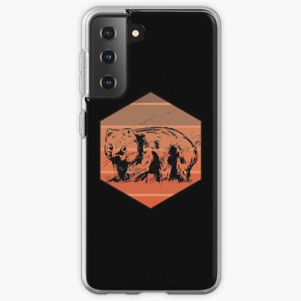 Wombat Retro Samsung Galaxy Soft Case