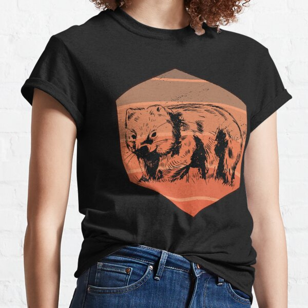 Wombat Retro Classic T-Shirt