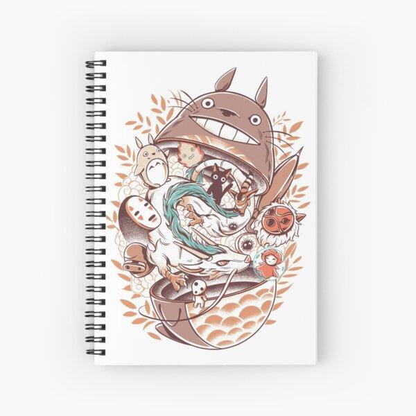 Box Spiral Notebook