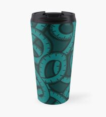 Measuring Tape Pattern Travel Mug