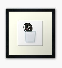 Cookie Dunk Framed Print