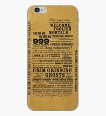 I am your host, your Ghost Host...(Black) iPhone Case