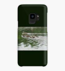Eleven Duckling's in the Rain Case/Skin for Samsung Galaxy