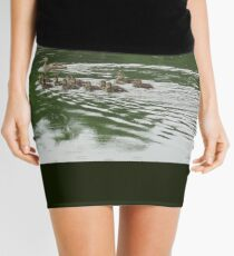 Eleven Duckling's in the Rain Mini Skirt