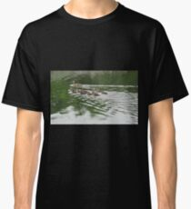 Eleven Duckling's in the Rain Classic T-Shirt