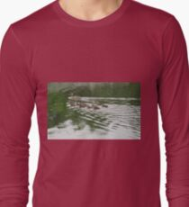 Eleven Duckling's in the Rain Long Sleeve T-Shirt