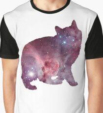 Nebula Kitty Graphic T-Shirt