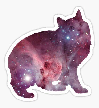 Nebula Kitty Sticker